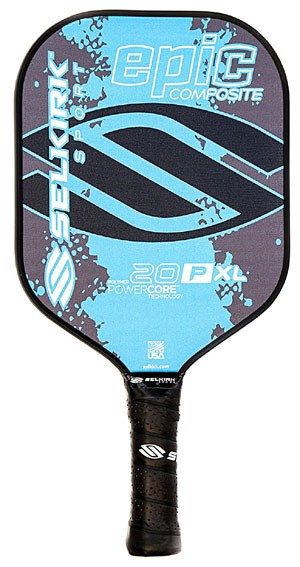Selkirk 20P XL Epic Polymer Composite Pickleball Paddle