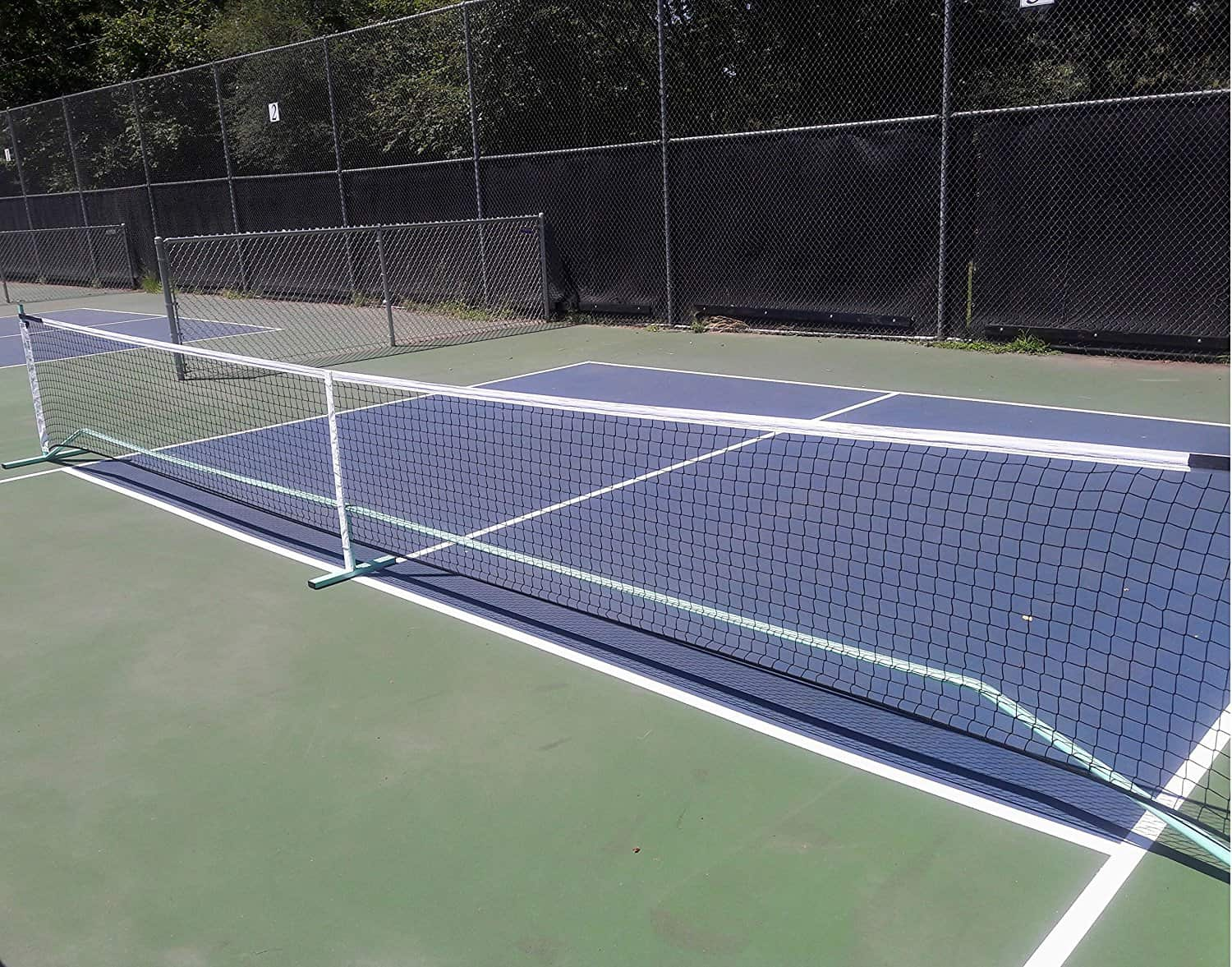 How long is a pickleball net?