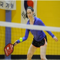 Forehand Topspin Pickleball Serve