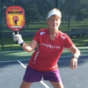 Pickleball Player Deb Harrison